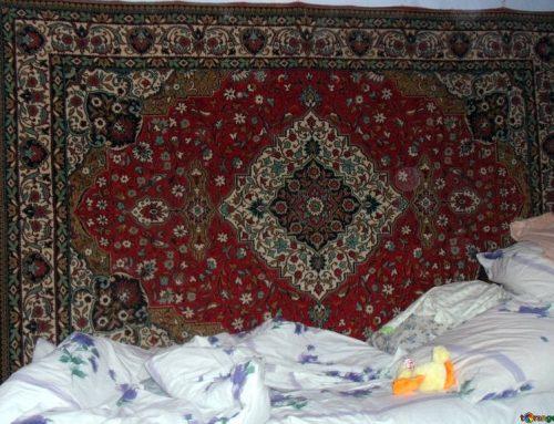 Czemu Rosjanie wieszają dywany na ścianie?